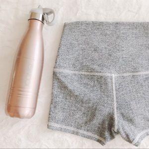 {lululemon} boogie shorts - heathered grey
